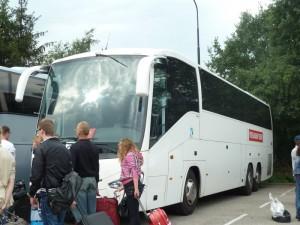 Met de bus naar Parijs