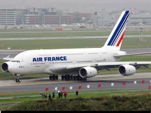 Vliegen naar Parijs
